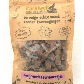 Carniwell Konijnenvleestrainertjes 200g